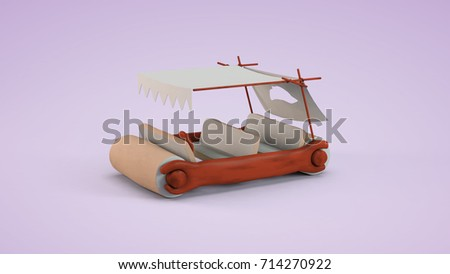flintstone car #714270922