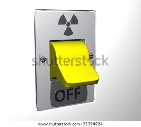 Flip switch: Nuclear Power - Off