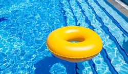 floater in pool