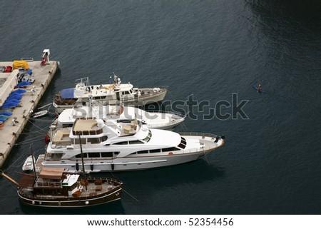 Floating Boat in Monaco