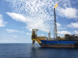 Floating production storage and offloading (FPSO) vessel, oil and gas indutry