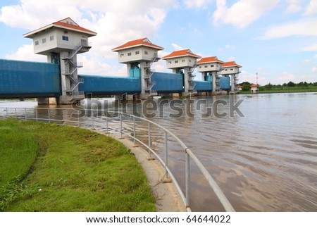 Unique Fencing Flood Defence Gates