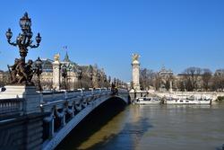 Flooded Seine, February 10, 2021