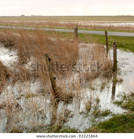 Flooding in Holland