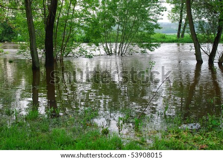 flooding in southern Poland, May 19, 2010