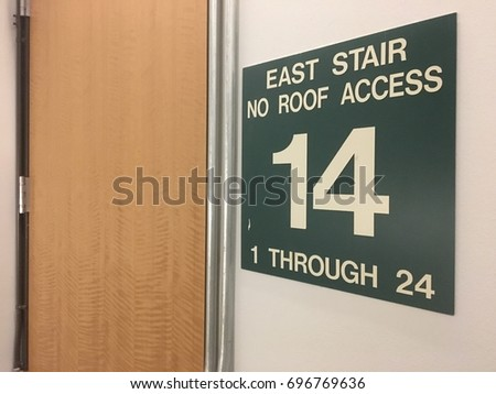 Floor fourteen no roof access #696769636