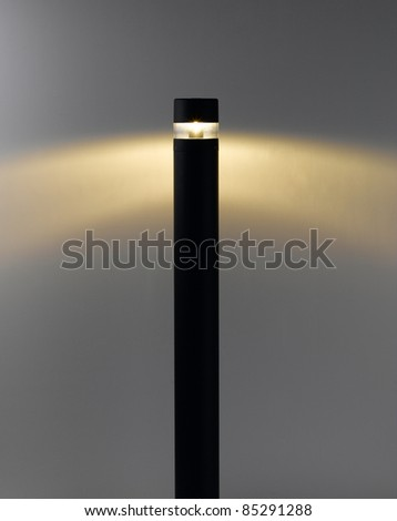 floor lamp with lighting for decorate garden or walkway