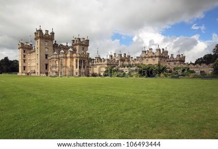 Floors Castle in the Scottish borders