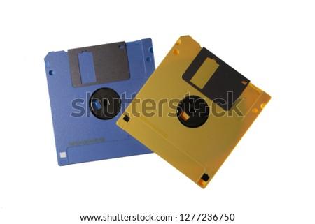 floppy disk  2 DIsk