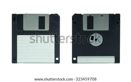 Floppy Disk. isolated on white background