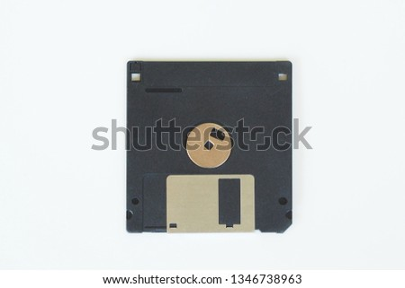 Floppy disks are part of the computer. Used in old times