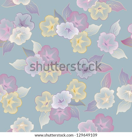 Floral Abstract Decorative Seamless Pattern For Wallpaper ...