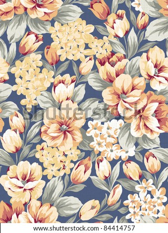floral background , element for design pattern - stock photo