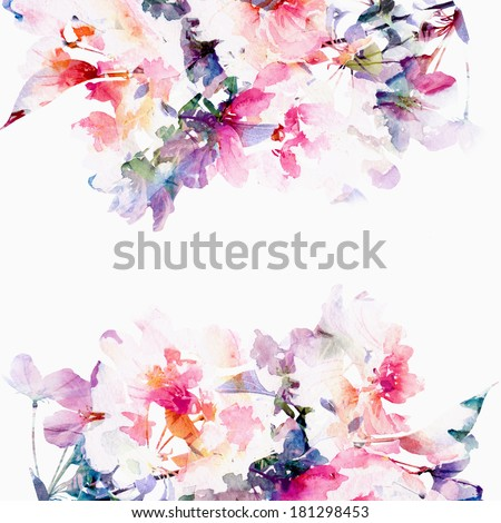 floral background. roses....