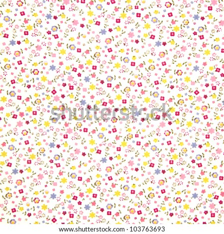 floral background to place your text or design.