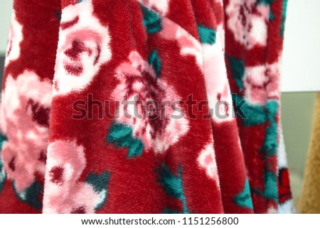 Floral bath towel #1151256800