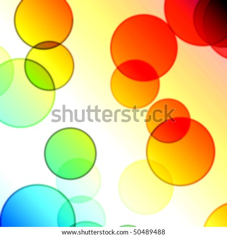 floral bubbles pattern
