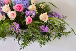 floral composition. wedding decorations