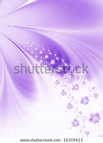 Floral fantasy. - stock photo