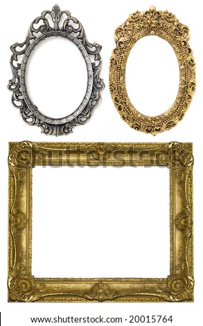 floral goldand silver frame collection