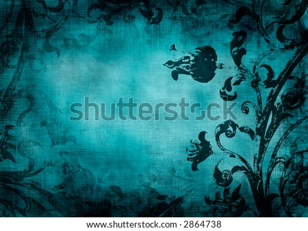 floral grunge background