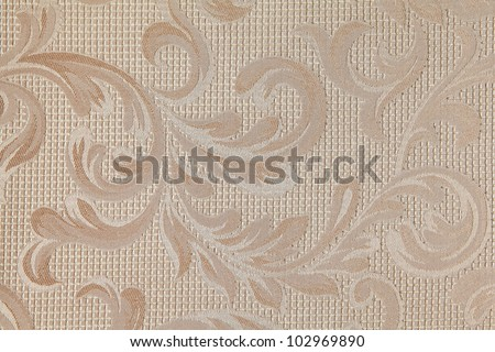 floral pattern close up fabric texture background
