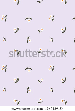 Floral pattern, Seamless texture. For fashion prints light lilac background, for textiles clothing pajamas, bed linen