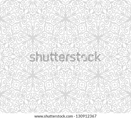 floral seamless lace pattern