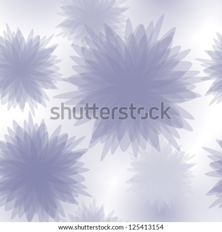 Floral seamless pattern background in pastel colors. Raster version