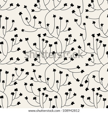 Floral seamless pattern. seamless pattern