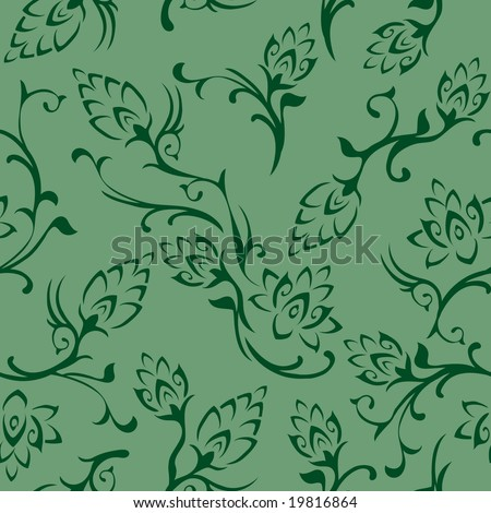 vintage wallpaper tile. tattoo Seamless Wallpaper Tile