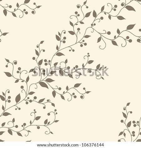 floral vector vintage seamless...