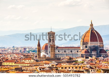 Florence and Saint Mary of the Flower in Florence