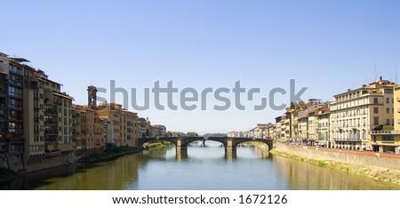 Florence Bridge - stock photo