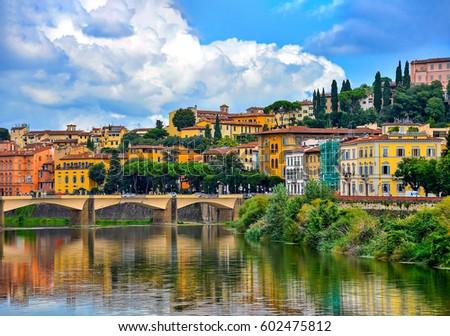 Florence landmark landscape #602475812