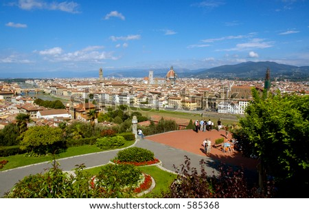 Florence Panorama from the Piazzale Michelangelo