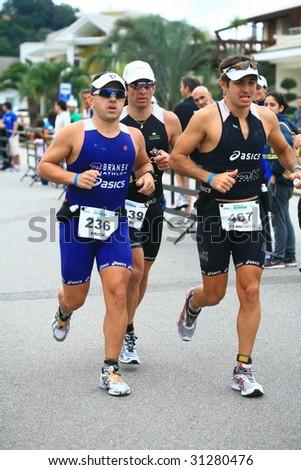 - SANTA CATARINA, BRAZIL, MAY 31: Unidentified competitosr race