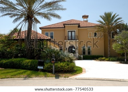 florida home for sale on the east coast near beach area