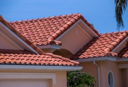 Florida home with spanish tiled roof
