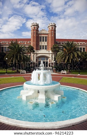 Florida State University historic buildings in Tallahassee, Florida