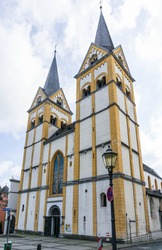 florinskirche church in the city Koblenz Germany