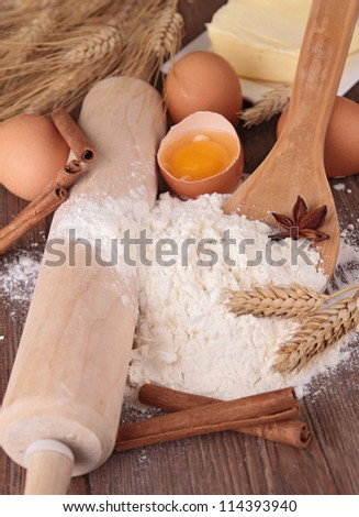 flour and ingredient