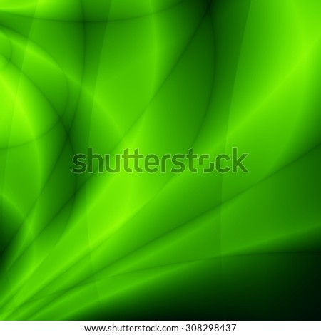 Flow green illustration abstract nature wallpaper background