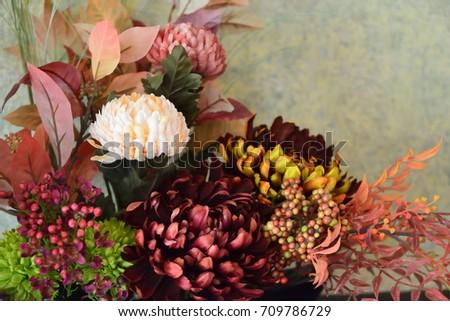 flower arrangement #709786729