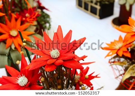 Flower Arrangement made of Dried Plants/FLOWER ARRANGEMENT