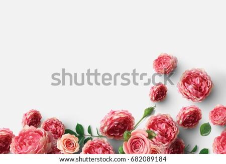 Flower background concept #682089184