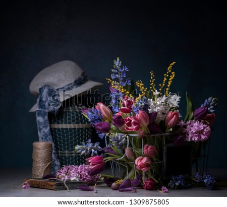 flower bouquet for still life with flowers