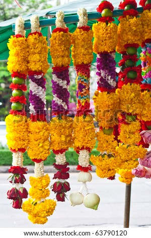 Wedding Flower Garland on Indian Wedding Flower Garland Group Picture Image By Tag Images