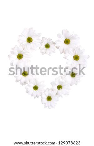 Flower heart - Shutterstock ID 129078623