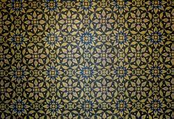 flower pattern Thai style art backgroudn